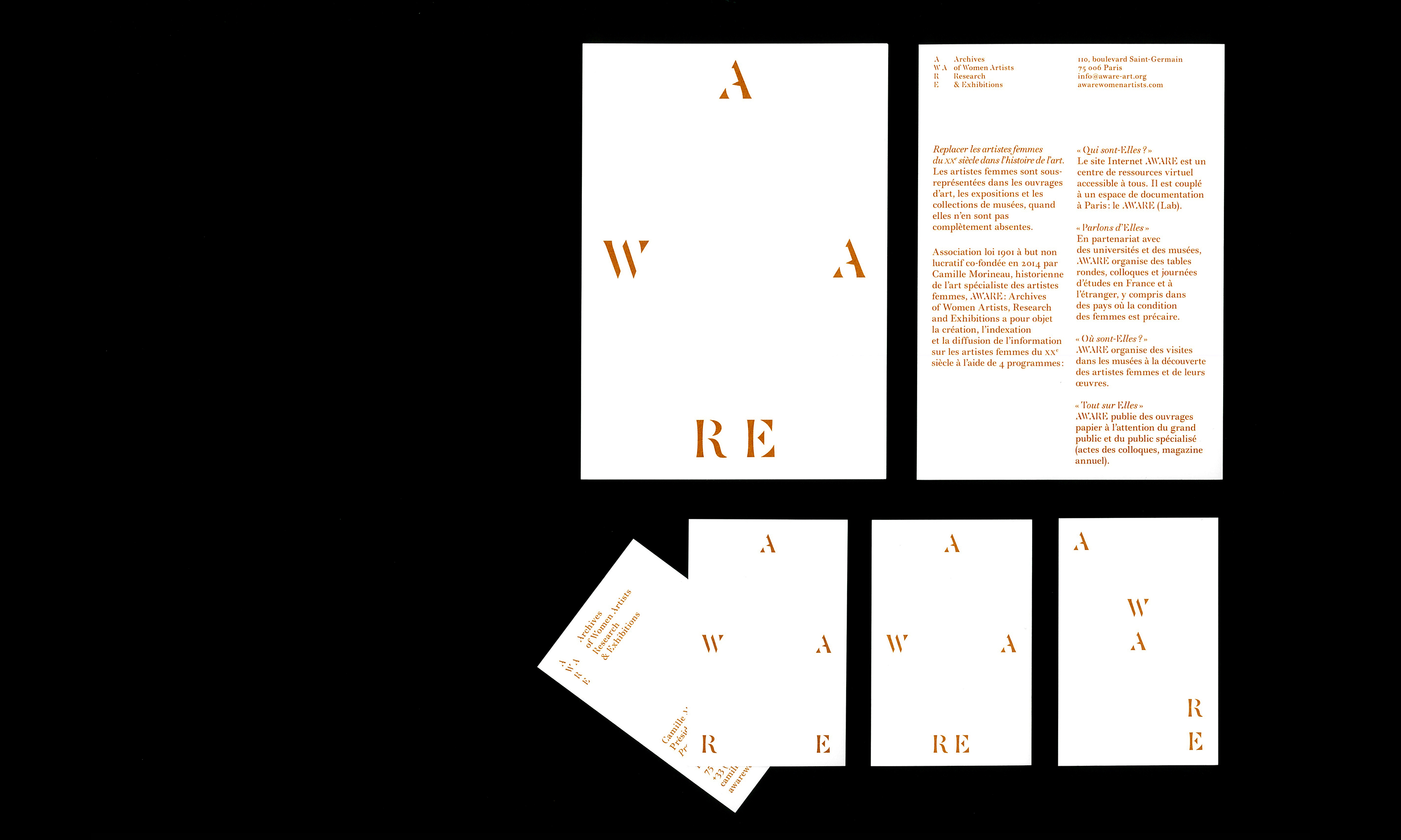 AWARE, Archives of Women artists Research & Exhibitions — Lisa Sturacci Graphiste
