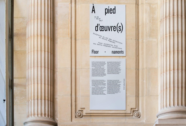 À pied d'œuvre(s), Monnaie de Paris — Lisa Sturacci Graphiste