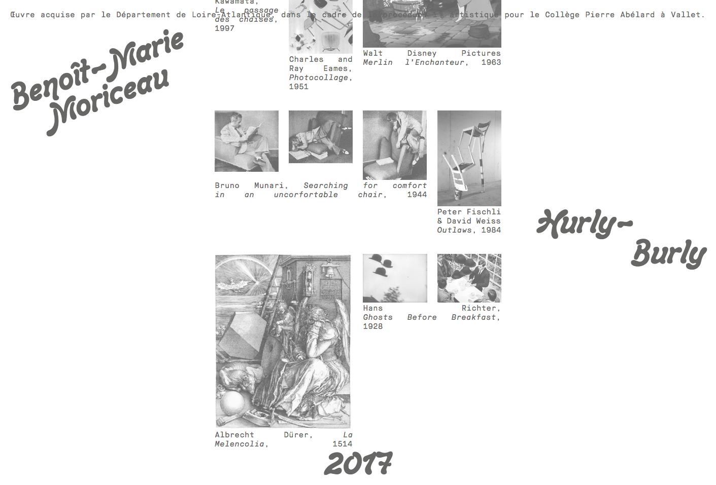 Hurly-Burly's website — Lisa Sturacci Graphiste