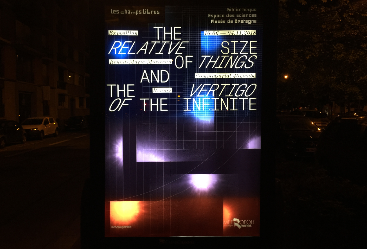 The Relative Size of Things and the Vertigo of the Infinite — Lisa Sturacci Graphiste