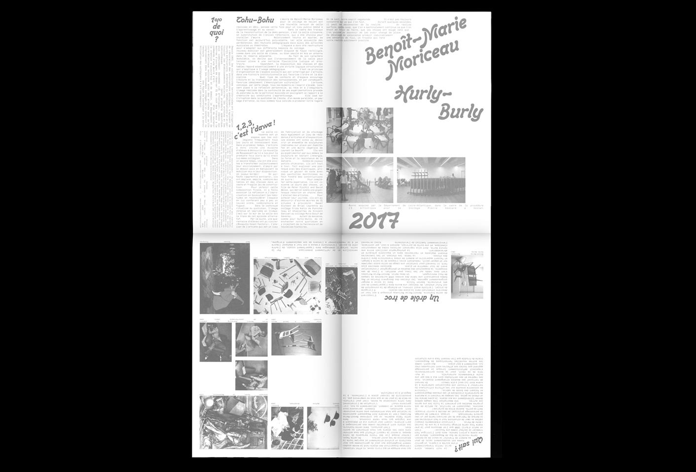 Hurly-Burly — Lisa Sturacci Graphiste