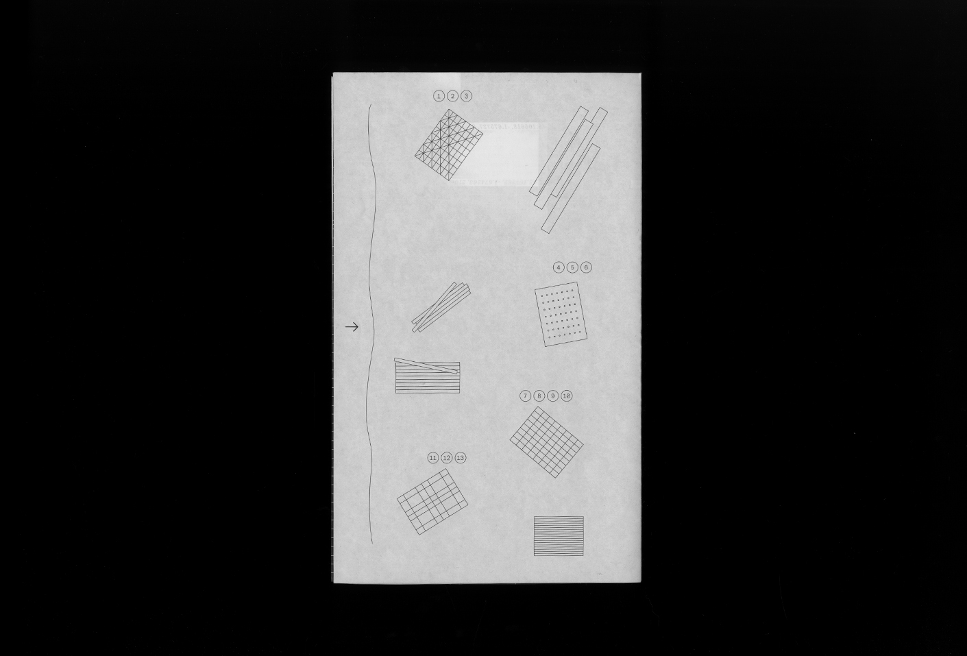 The Relative Size of Things and the Vertigo of the Infinite (leaflet) — Lisa Sturacci Graphiste