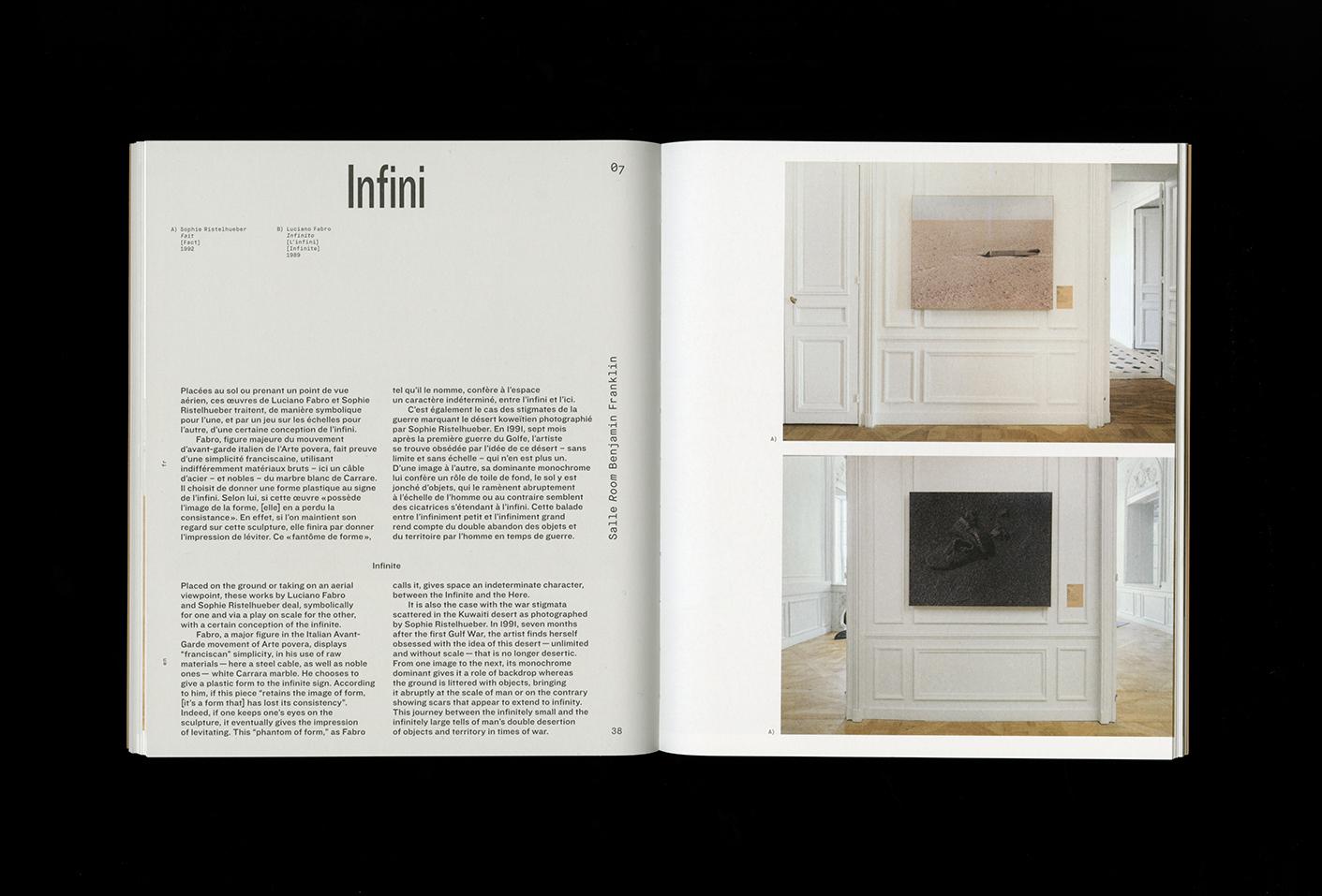 À pied d'œuvre(s), Monnaie de Paris (album de l'exposition) — Lisa Sturacci Graphiste