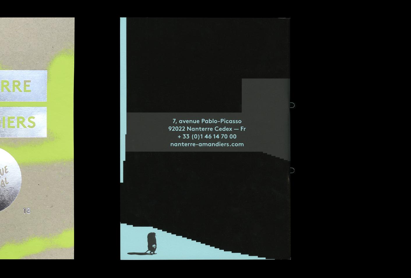 Nanterre-Amandiers — Lisa Sturacci Graphiste