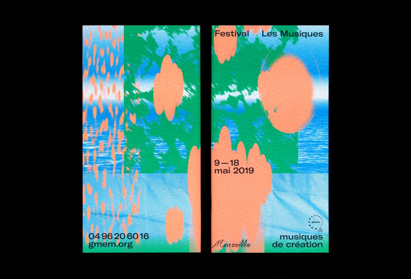 Festival Les Musiques 2019 — Lisa Sturacci Graphiste