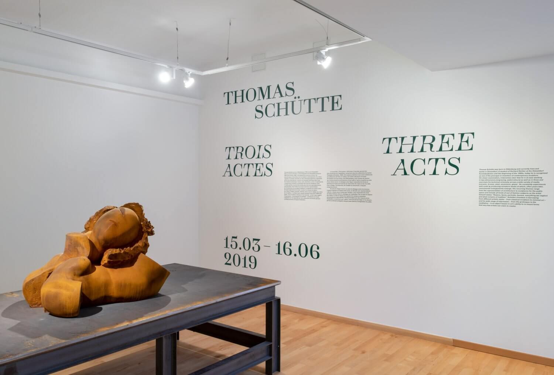 Thomas Schütte, Monnaie de Paris (signalétique) — Lisa Sturacci Graphiste