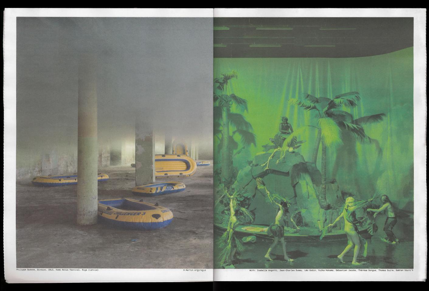 Philippe Quesne: Microcosm — Lisa Sturacci Graphiste
